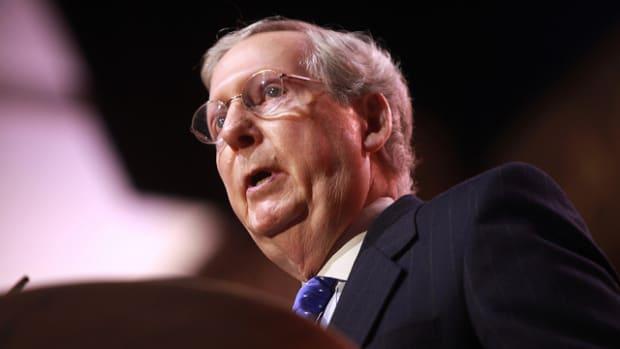 Senate Majority Leader Mitch McConnell of Kentucky