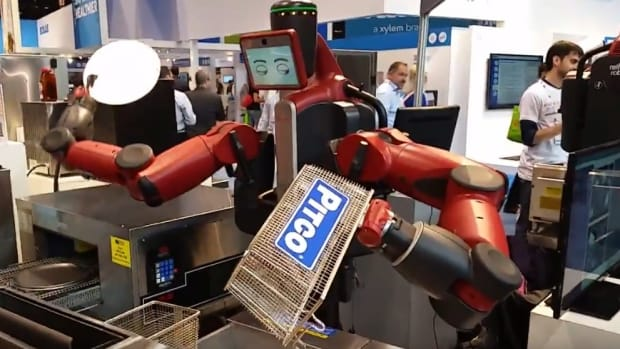 Ex-McDonald's CEO: Robots Cheaper Than Staff (Video) Promo Image