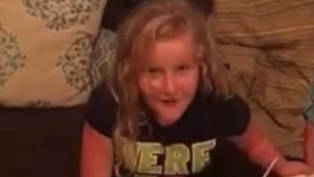 Disabled Girl's Reaction to Gift Captures Hearts (Video) Promo Image