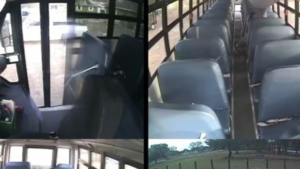 Special Needs Boy Left On Bus Hitchhikes Home (Video) Promo Image