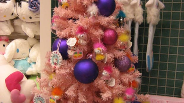 A Hello Kitty Themed Christmas Tree