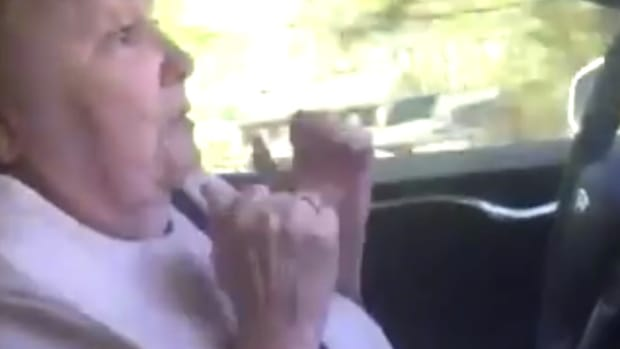 Elderly Lady Terrified In Self-Driving Car Ride (Video) Promo Image
