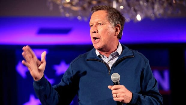 Did Kasich Just Reference The Muslim 'No-Go Zone' Myth? Promo Image