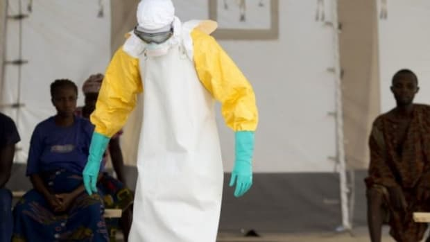 The Ebola case occurred in Sierra Leone