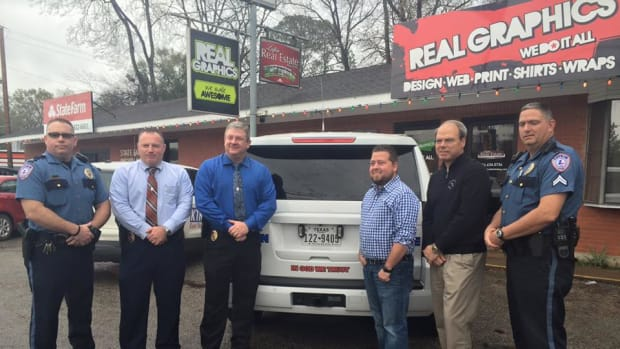 Lufkin Police Department Adds 'In God We Trust' to cruisers
