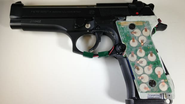 A Smart Gun prototype developed at the New Jersey Institute of Technology