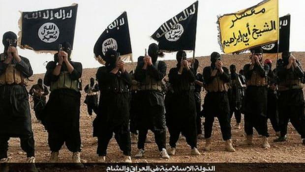 ISIS Militants in Anbar, Iraq.