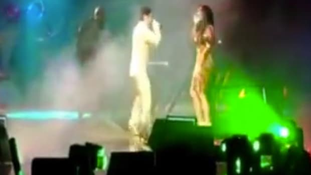 When Prince Kicked Kim Kardashian Off A Stage (Video) Promo Image
