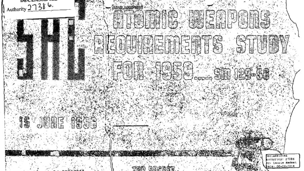 """Atomic Weapons Requirements Study for 1959."""