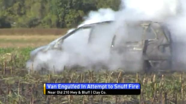 Van Fire Missouri