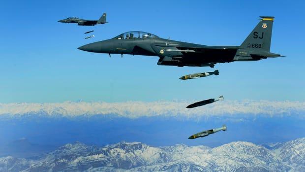 A U.S. airstrike