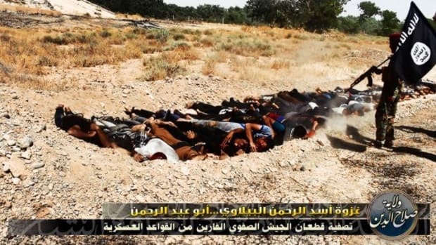 Report: ISIS Executes 15 Of Its Own Members  Promo Image