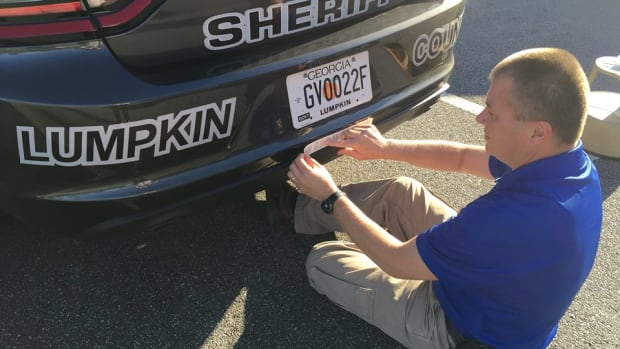 Lumpkin County Sheriff's Office Posting Religious Decals On Their Cars