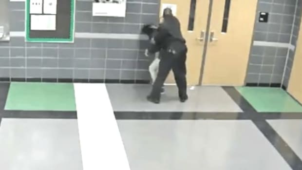 Female Student Roughed Up By Detroit School Cop (Video) Promo Image