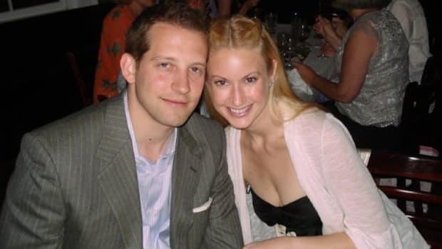 Kiersten Rickenbach Cerveny with husband Andrew