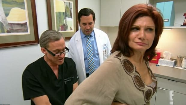 Surgeons Horrified By Woman's Butt Implants (Video) Promo Image