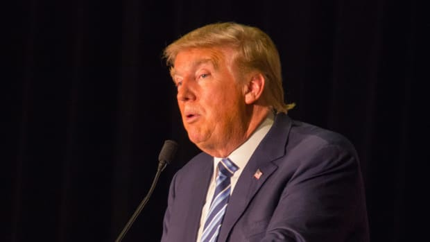 Linguistic Study: Trump Speaks Like An 11-Year-Old Child Promo Image