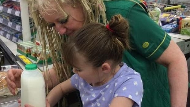 Store Worker Praised For Helping Blind, Autistic Child Promo Image