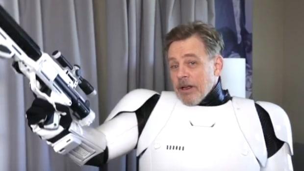 Mark Hamill As Stormtrooper.