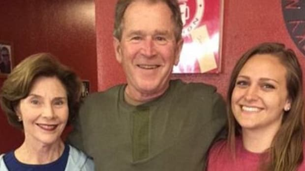 Waitress Slammed For Tasteless George W. Bush Tweet (Photo) Promo Image