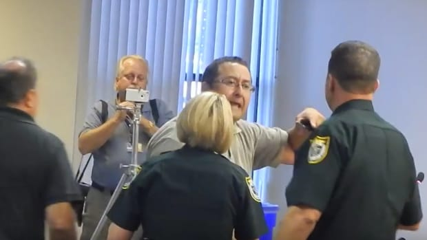 Rant At School Board Meeting Leads To Arrest (Video) Promo Image
