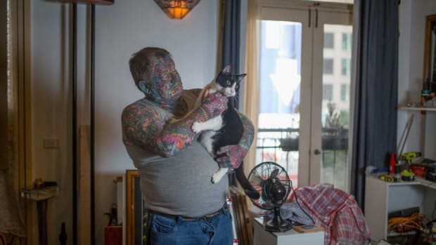 Completely Tattooed Criminal Changes His Ways (Photos) Promo Image