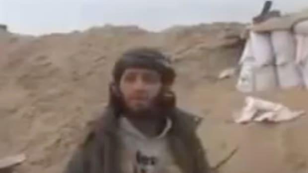 Islamic State Group Militant Screenshot.
