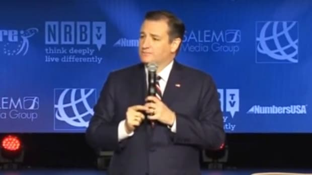 Cruz: Gay Marriage May End Christian Broadcasts (Video) Promo Image