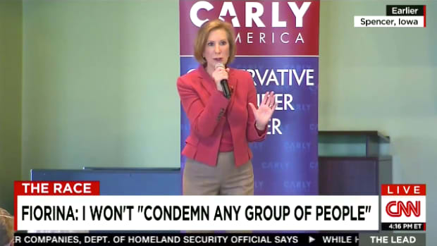 Carly Fiorina Muslim Question