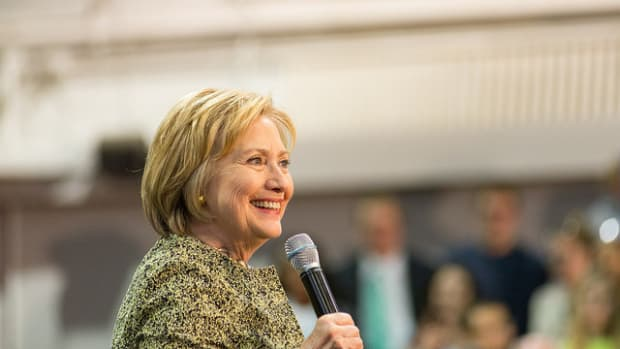 Poll: Clinton Up By Double Digits In California Promo Image