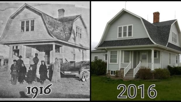 Man Renovates Home Bought From Sears In 1916 Promo Image