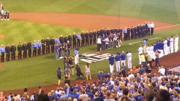 Royals And Astros Game Honors KCFD