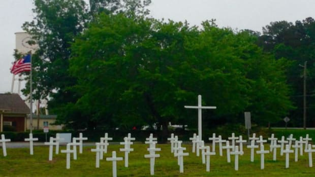 Memorial Day Crosses Taken Down After Residents Complain Promo Image