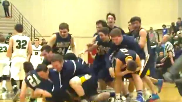 High School Team Celebrates Win Too Early (Video) Promo Image
