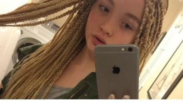 'It's Offensive': Here's Why This 12-Year-Old's Selfie Is Sparking Internet Outrage (Photo) Promo Image