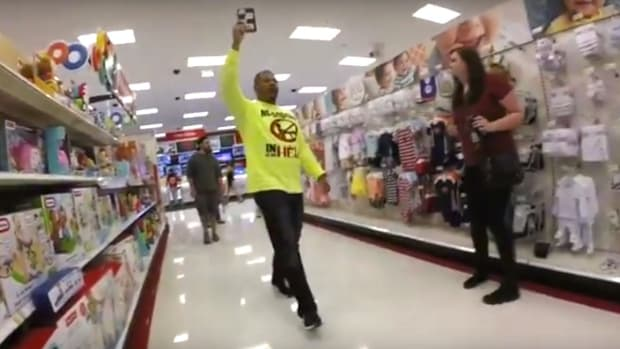 Christian Protesters Preach At People In Target (Video) Promo Image