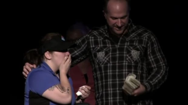 Natasha and the Rev. Steve Markle