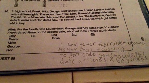 Maddy Douglas' Homework.