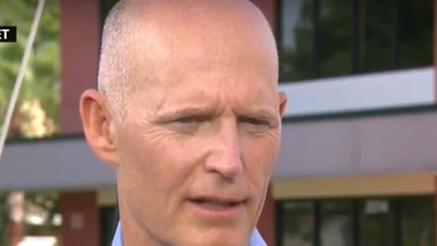 Florida Governor: Focus On Refugees, Not Guns (Video) Promo Image