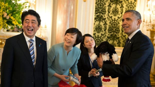 Japanese Prime Minster Scolds Obama To His Face Promo Image