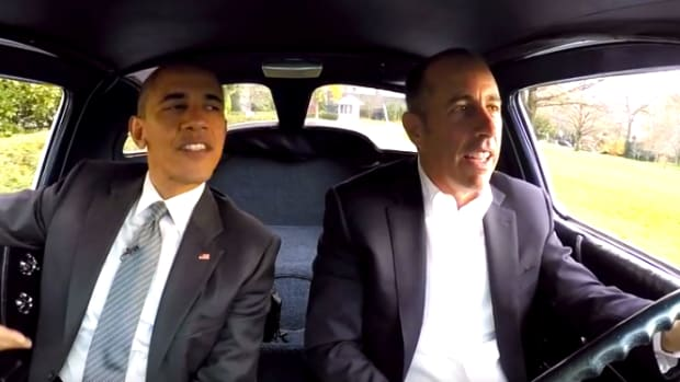 President Obama And Jerry Seinfeld