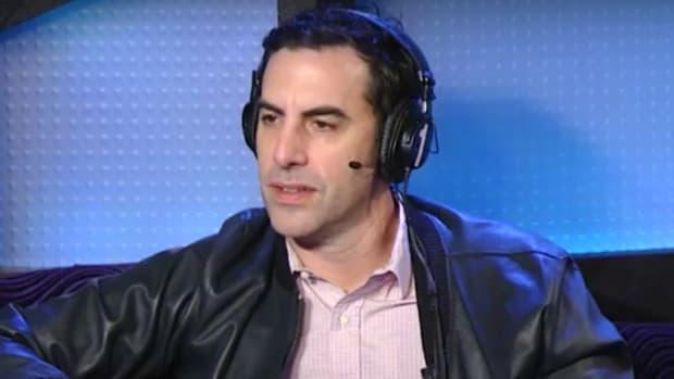 Why Sacha Baron Cohen Quit Freddie Mercury Movie (Video) Promo Image
