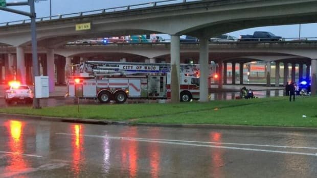 Mother Shields Baby In 30-Foot Fall From Overpass Promo Image