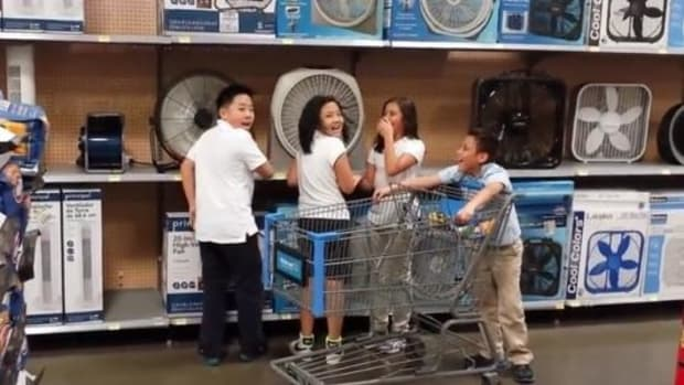 Man Sees What Kids Are Doing At Walmart, Immediately Starts Recording (Video) Promo Image