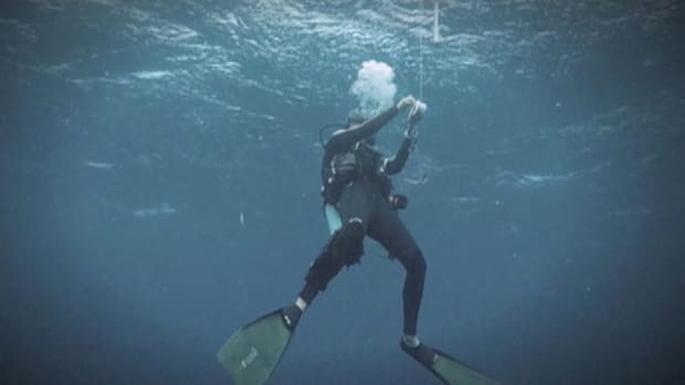 Diver Gets Sucked Into Pipe At Nuclear Power Plant Promo Image