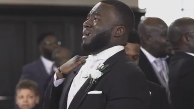 Groom's Reaction To Bride Goes Viral (Video) Promo Image