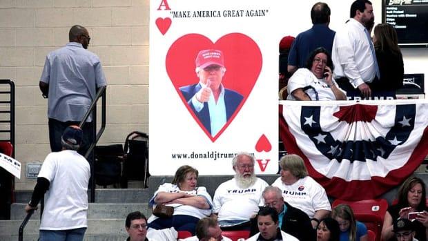 Texas Voters 'Look Past' Trump's KKK Issue (Video) Promo Image