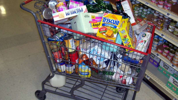 Grocery Cart.
