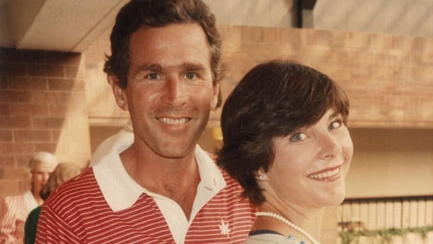 George and Laura bush