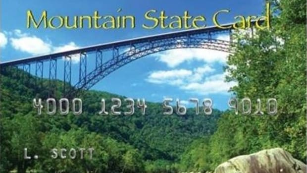 "A ""Mountain State Card"", which is issued to West Virginians receiving food stamp benefits."